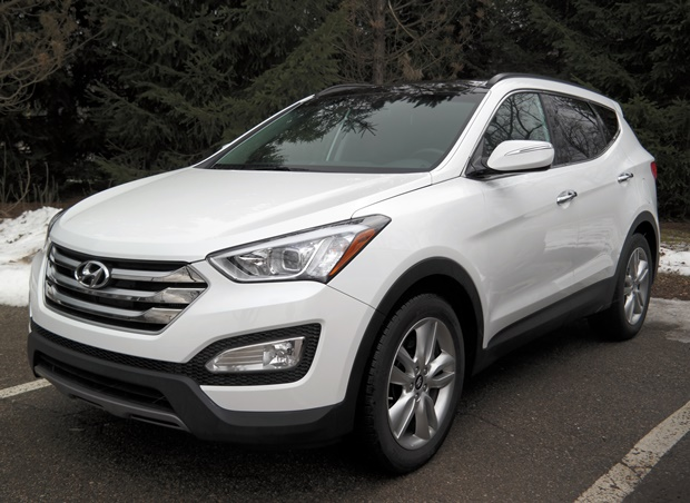 The 2016 Hyundai Santa Fe Sport