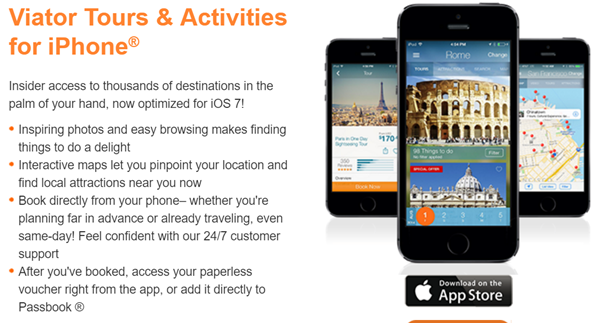 Travel Apps Viator