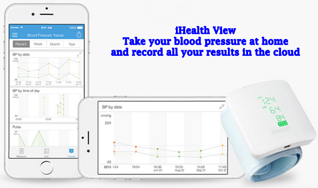iHealth View Wireless Blood Pressure at Home Chart Your Stats