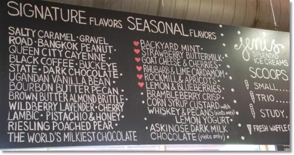 Columbus North Market Jeni's Splendid Ice Creams