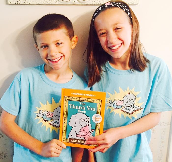 Elephant & Piggie Shirts & Book