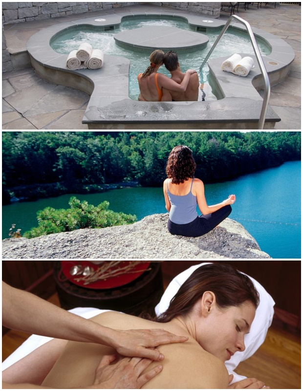 Hudson Valley Spa Collage