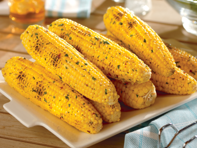 Spicy Grilled Corn Featured