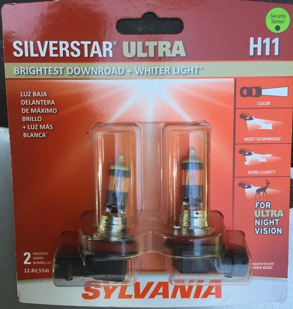 Sylvania Silverstar Ultra Lights Packaging