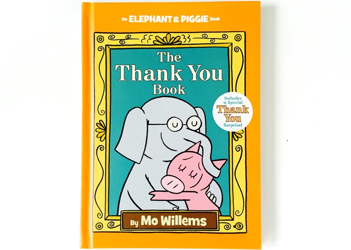 The Thank You Book Elephant & Piggie