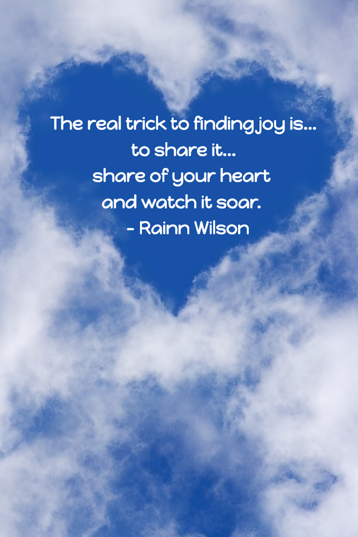 The real trick to finding joy is