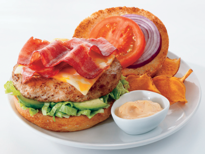 BLT Turkey Burger Featured