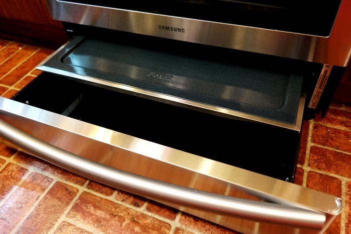 Samsung Dual Door Range Partition Storage Warming Drawer