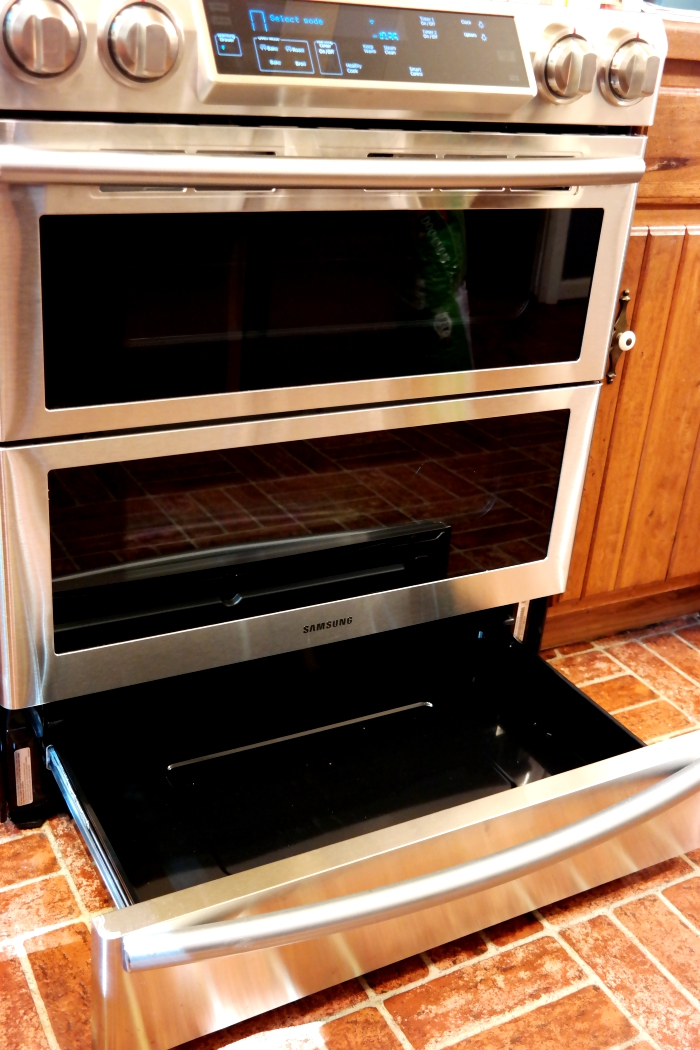 Samsung Dual Door Range Warming Drawer