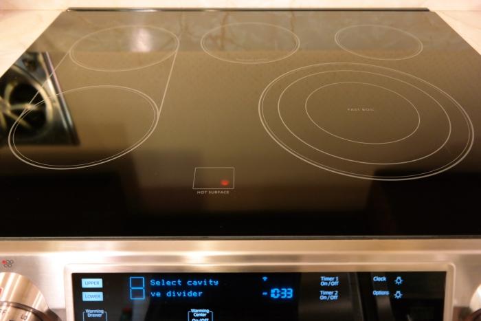 Samsung Flex Dual Door Range Cooktop