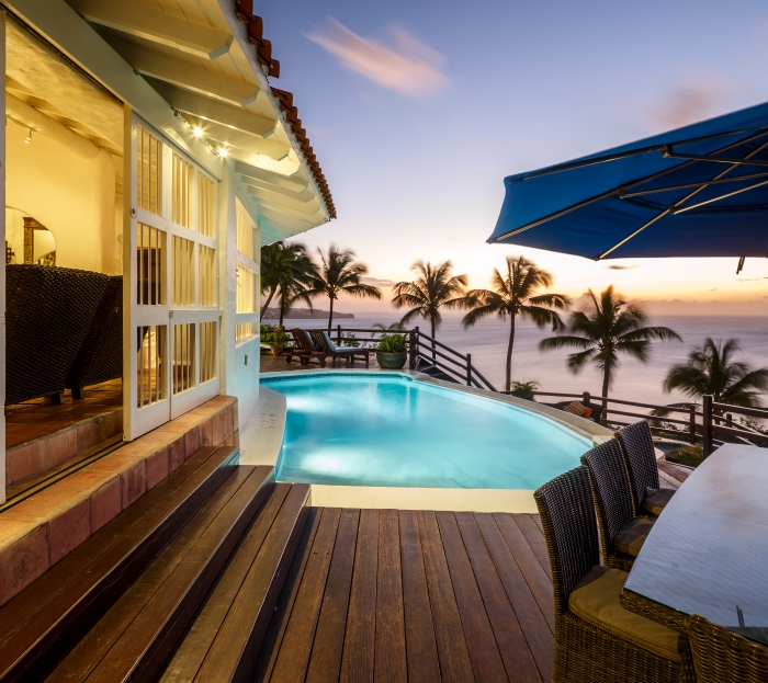 Windjammer Landing Estate Villa Pool Deck