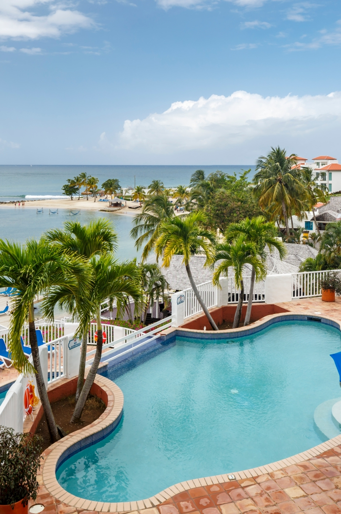 Windjammer Landing Resort Pool in St. Lucia