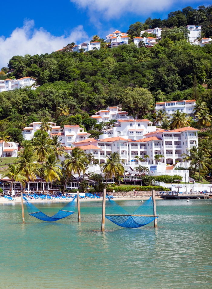 Windjammer Landing Resort in St. Lucia