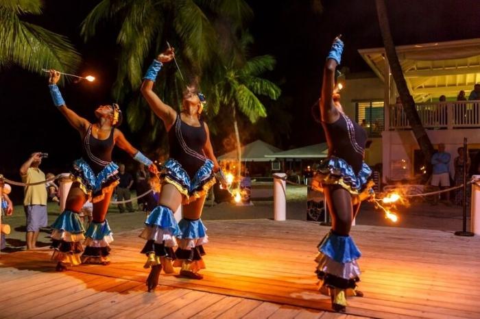 Windjammer Landing St. Lucia Fire Eaters