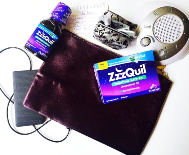 Summer #TravelTipZzz with ZzzQuil