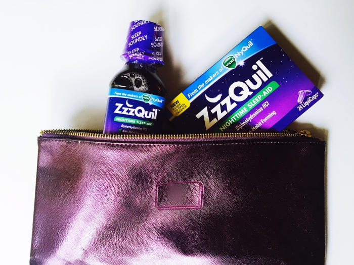 ZzzQuil Summer Travel Tips Packing