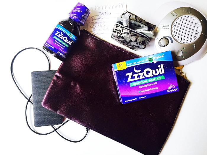 ZzzQuil Summer Travel Tips
