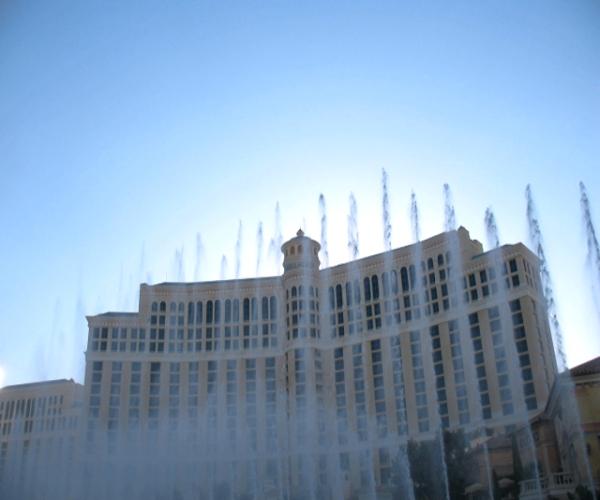 Bellagio Fountains Featured