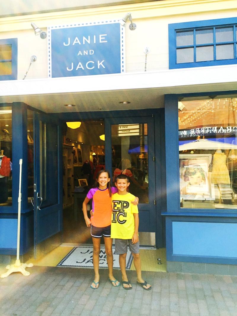 Back To School Shopping Janie & Jack