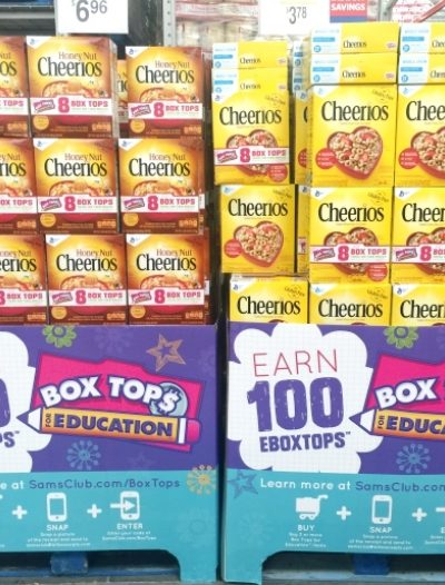 How To Get 100 eBoxTops At Sams Club