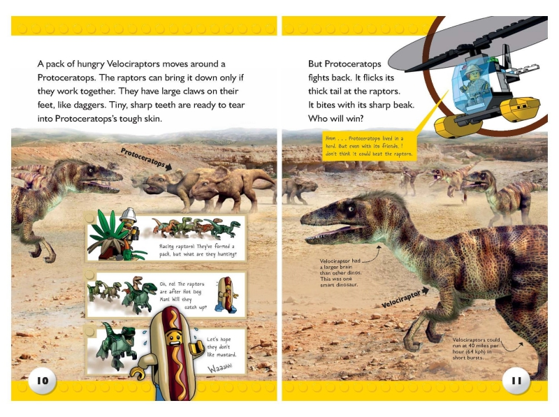 Dino Safari Spread