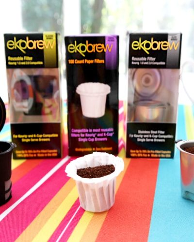 Save Money & Be Kind To The Environment With Ekobrew Reusable KCups