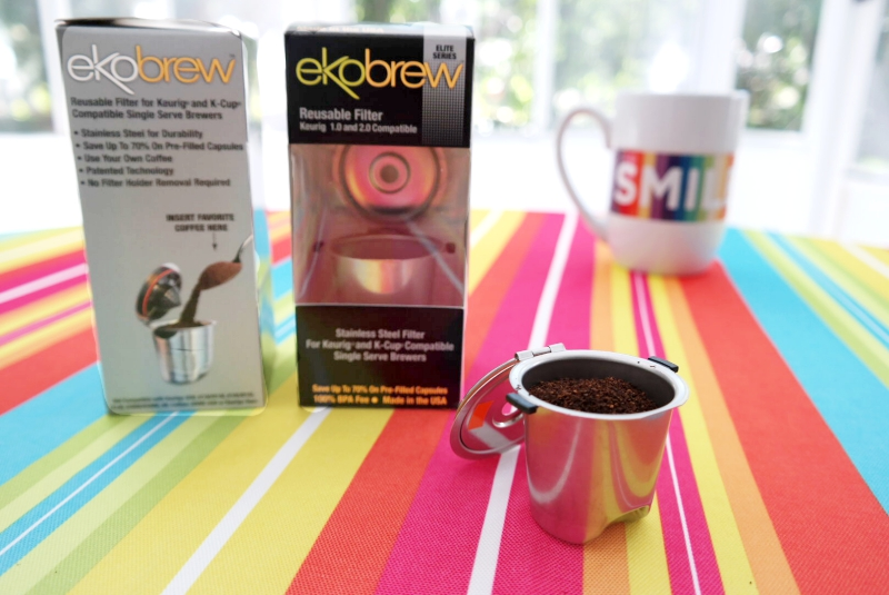 Ekobrew Stainless Steel Reusuable KCup