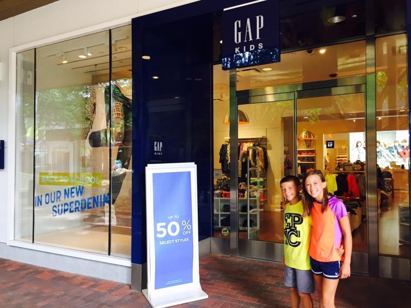 Mall at Partridge Creek Gap Kids