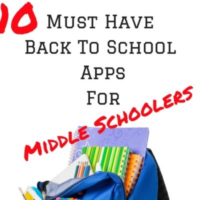 10 Must Have Back To School Apps For Middle Schoolers