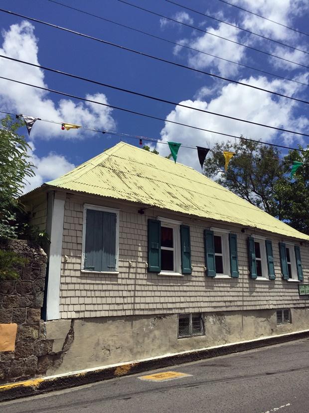 Nevis Alexander Hamilton's Childhood Home