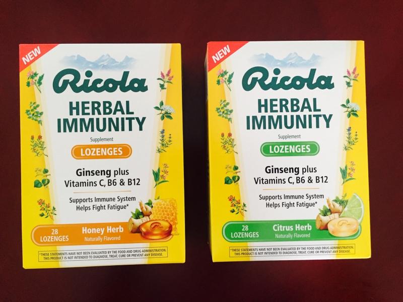 Ricola Herbal Immunity Lozenges