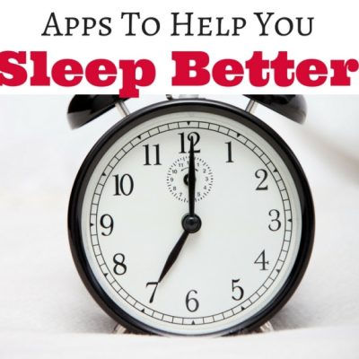 Apps To Help You Sleep Better