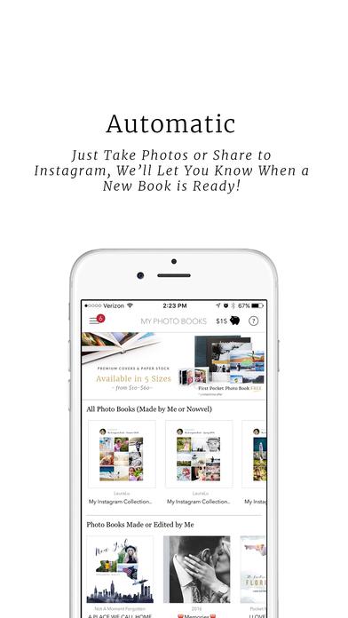 Easy Travel & Family Photo Books App