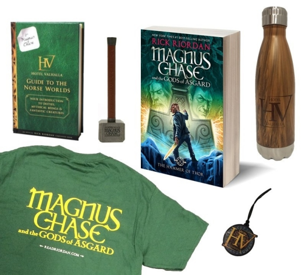 magnus chase the hammer of thor prize pack giveaway