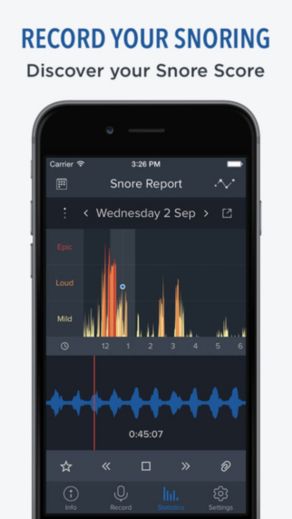 Free Snore apps on your iPhone, iPad, iOS, Android