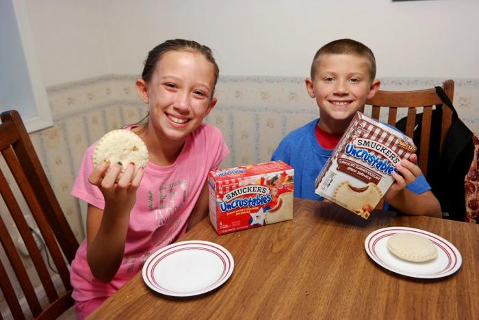 Uncrustables After School Snacks