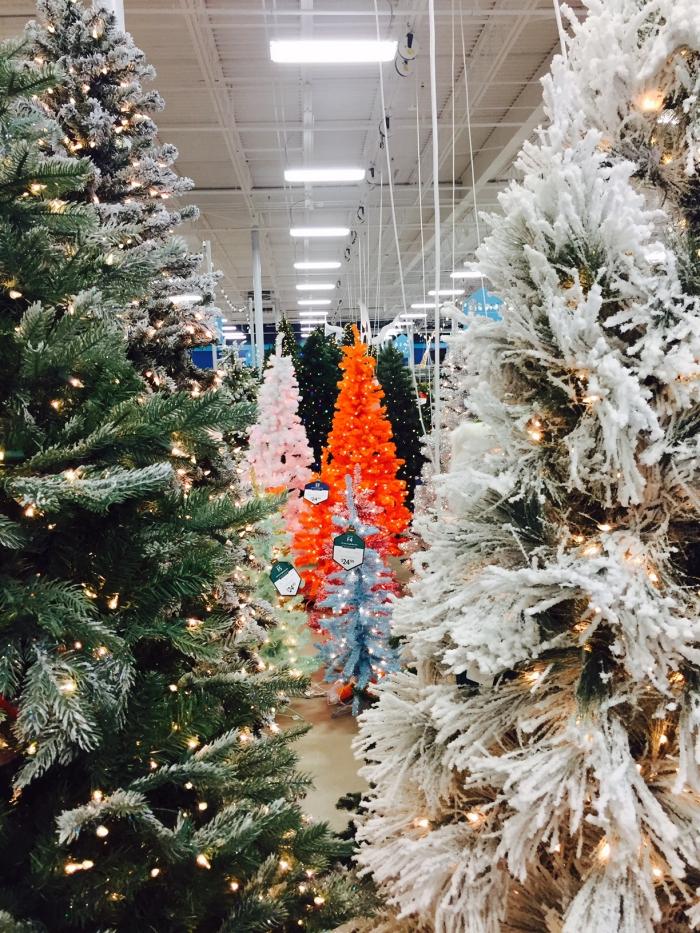 At Home Christmas Trees Holiday Shopping