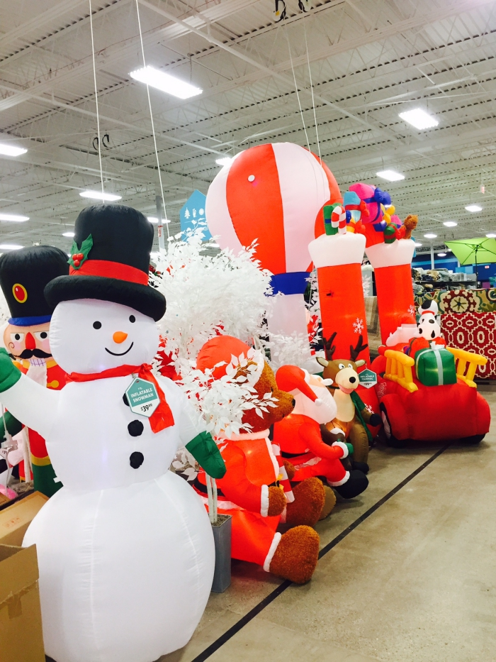 At Home Outdoor Holiday Inflatables