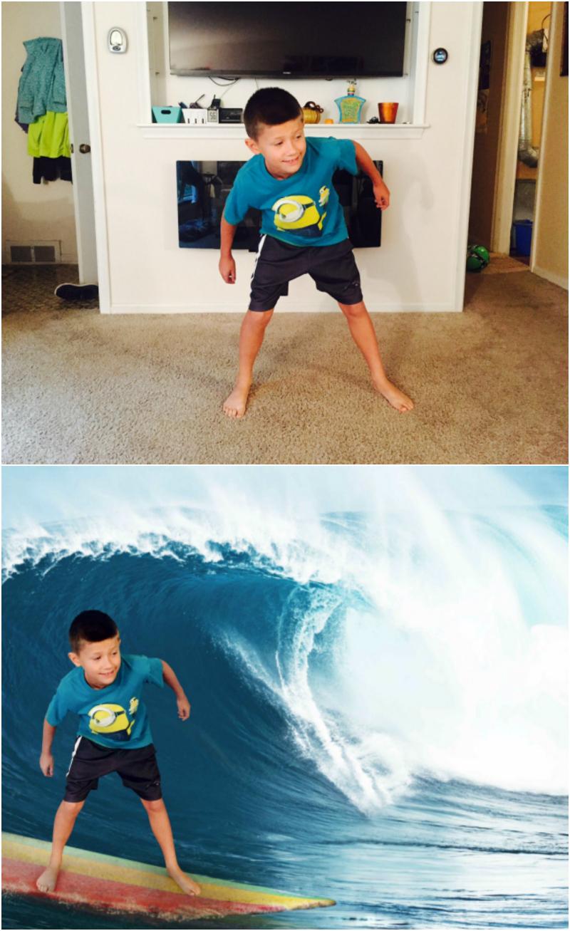 Krome Studio App Surfing Before & After