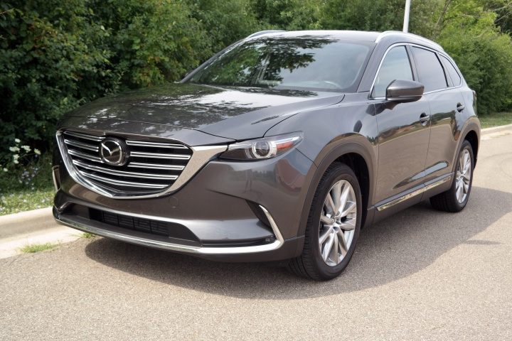 the mazda cx 9 is a premium family suv with 3 rows and lots of fun. Black Bedroom Furniture Sets. Home Design Ideas