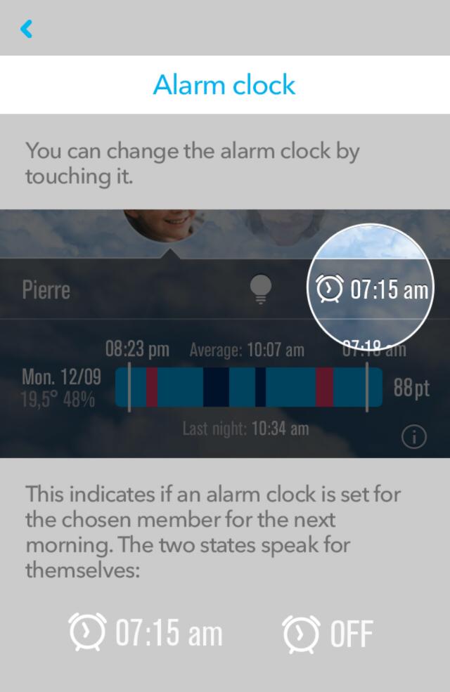 hugone-alarm-clock Prevent grumpy & sleepy children
