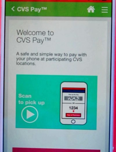 CVS Pay Scan To Pickup