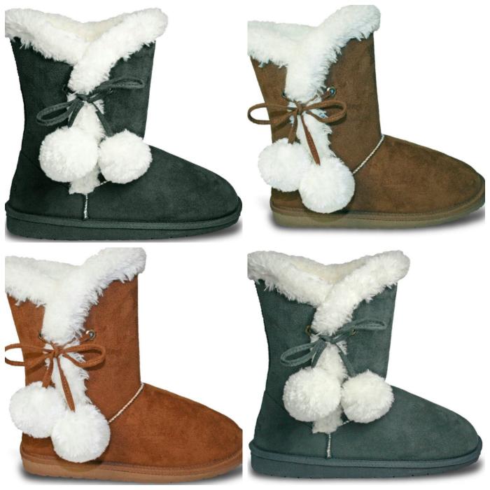 Dawgs Footwear Women's SideTie Boots