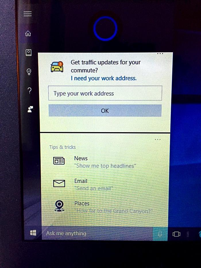 HSN HP Notebook Cortana