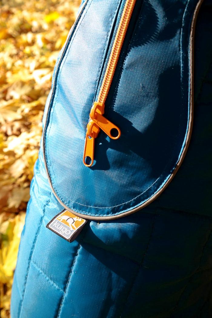 Kurgo Loft Jacket Zipper