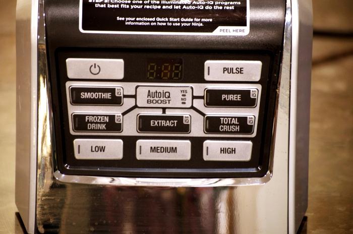 NutriNinja Blendmax Duo Control Panel