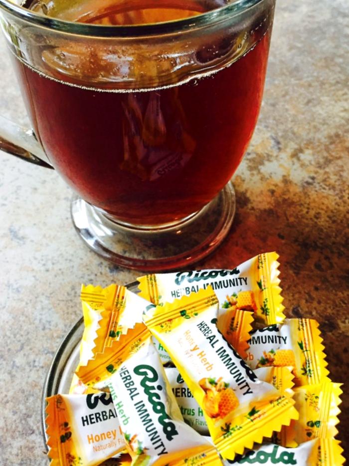 Ricola Herbal Immunity Drops Honey Citrus