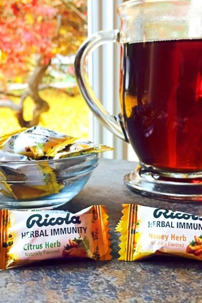 Fighting Off Flu Season With Ricola Herbal Immunity Drops