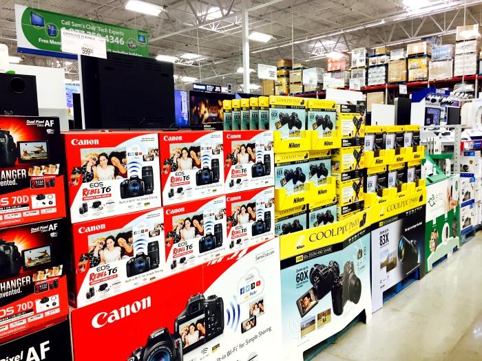 Sam's Club Cameras