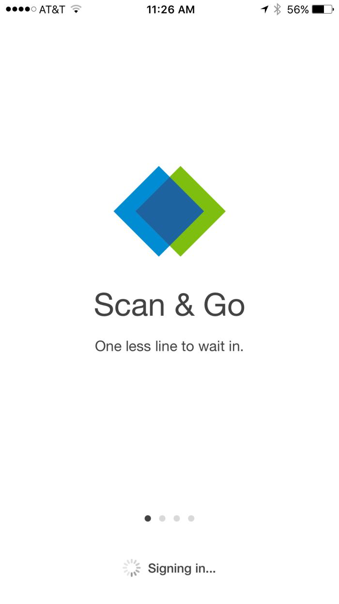 Sam's Club Scan & Go App 1